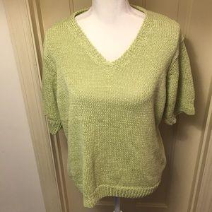 Talbots V-Neck Sweater NWOT